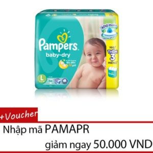 Tã dán Pampers Super Jumbo L86 IM